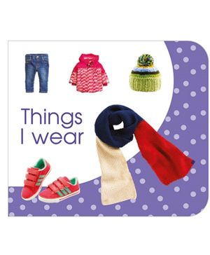 Art Factory Things I Wear Board Book - English