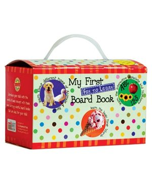 Art Factory My First Fun to Learn Board Book Box - Set of 8 Books