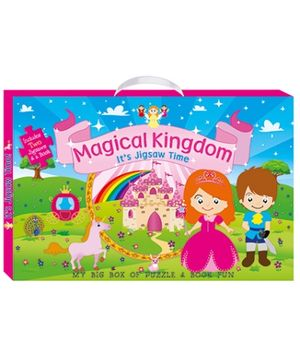 Art Factory Magical Kingdom My Big Box of Puzzle And Book Fun