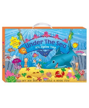 Art Factory Under The Sea My Big Box of Puzzle And Book Fun