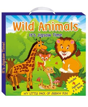 Art Factory Wild Animals - My Little Pack of Jigsaw Puzzle