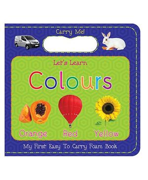 Art Factory Colors Easy to Carry Foam Book - English