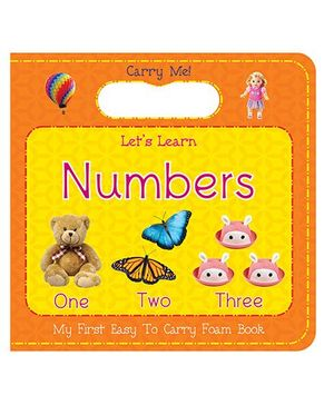 Art Factory Numbers Easy to Carry Foam Book - English