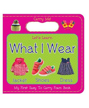 ART Factory Things I Wear Easy to Carry Foam Book - English