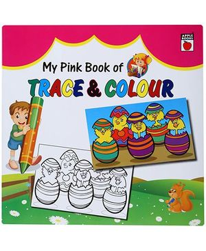 Apple Books My Pink Book of Trace And Color - English