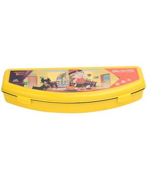 Chhota Bheem Plastic Pencil Box - Yellow