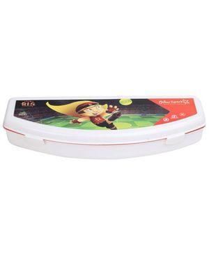 Chhota Bheem Plastic Pencil Box - White