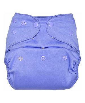 Bumberry Cloth Diaper Cover With One Bamboo Insert - Lavender