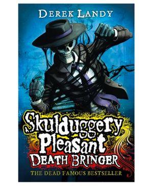 Happer Collins Skulduggery Pleasant Death Bringer - English