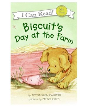 Harper Collins I Can Read Series Biscuits Day at the Farm - English