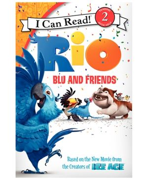 Harper Collins Rio Blu And Friends - English