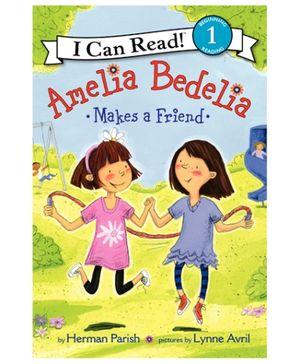 Harper Collins Amelia Bedelia Makes A Friend - English