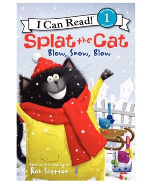Harper Collins Splat The Cat Blow Snow Blow - English