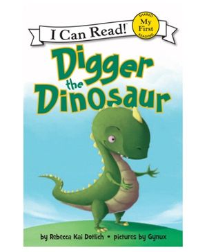 Harper Collins Digger The Dinosaur - English