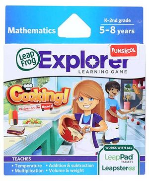 Leap Frog Mathematics Cooking Recipes On The Road K 2nd Grade - English