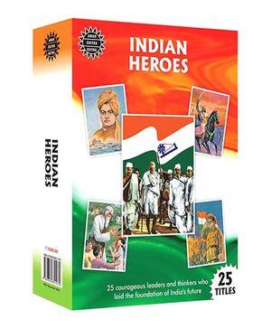 Amar Chitra Katha Indian Heroes - English