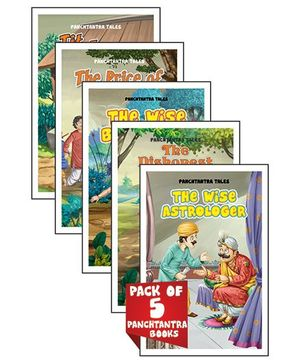 Young Angels Pack of 5 Panchtantra Books - English