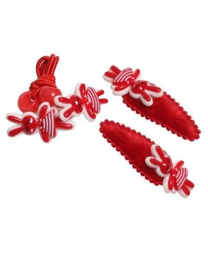 Hair Clip & Rubber Band Set