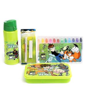 Ben 10 School Kit - Pack Of 4