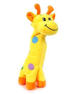 Fab N Funky Plush Baby Pouch Giraffe Shape - Yellow