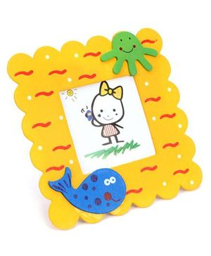Fab N Funky Photo Frame - Fish Motif
