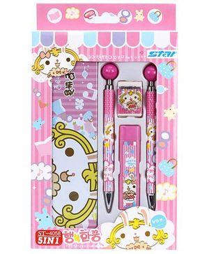 Fab N Funky Stationery Set - Pink