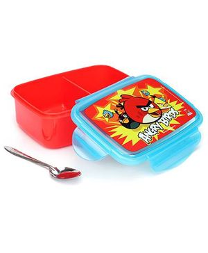 Angry Bird Lunch Box - Red And Blue