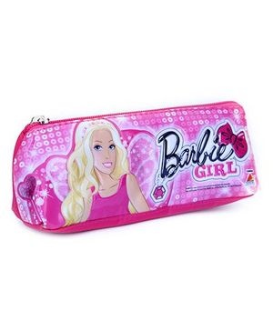 Barbie Pencil Pouch Pink - Barbie Girl