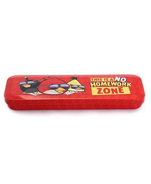 Angry Bird Classic Pencil Box - Red