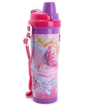 Barbie Flip Open Water Bottle - 600 ml