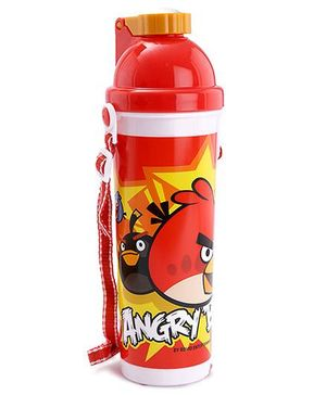 Angry Birds Push Button Water Bottle - 700 ml