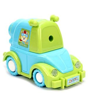 Fab N Funky Car Shape Sharpener - Blue And Green