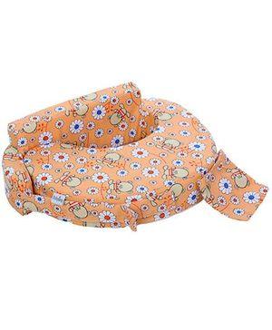 Babyhug Feeding Pillow Floral Print - Peach