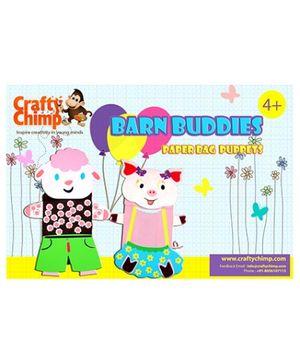 Crafty Chimp Barn Buddies Paper Bag Puppets