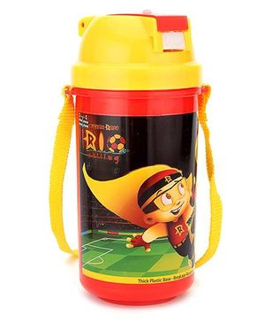 Chhota Bheem Water Bottle Yellow - 500 ml