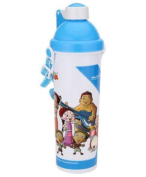 Chhota Bheem Push Button Sipper Bottle Blue - 550 ml