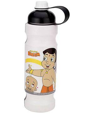 Chhota Bheem Water Bottle Black And White - 900 ml