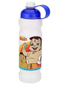 Chhota Bheem Water Bottle Blue And White - 900 ml