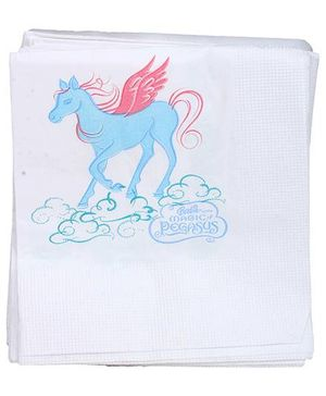 Barbie Napkins White - 16 Pieces