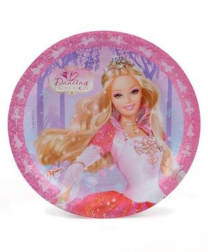 Barbie In The 12 Dancing Princess Paper Plates - Pack Of 8