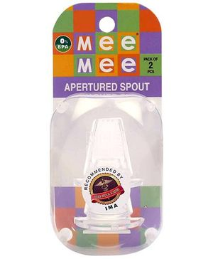 Mee Mee Apertured Spout - Pack Of 2