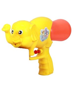 Deal Bindaas Holi Water Pichkari Elephant - Yellow