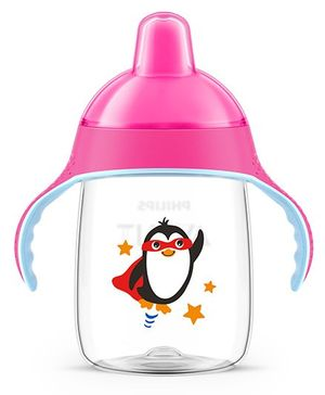 Avent Premium Spout Cup 340 ml - Pink