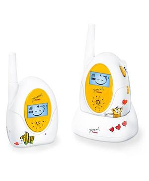 Beurer JBY 84 Baby Monitor Walkie Talkie - Yellow And White
