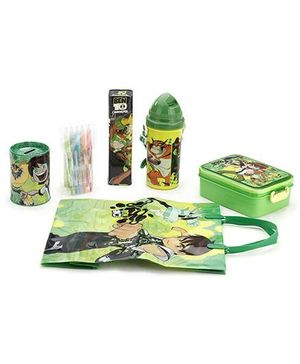 Ben 10 School Kit - Pack Of 6