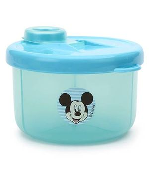 Disney International Milk Powder Container Mickey And Minnie Mouse