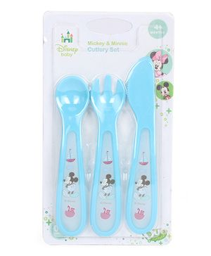 Disney International Cutlery Set (Color & Print May Vary)