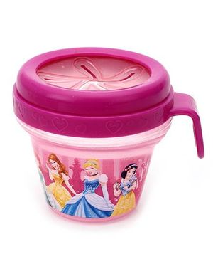 Disney International Princess Snack Bowl Pink - 236 ml