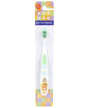 Mee Mee Kids Toothbrush - Green And White