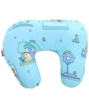 Sapphire Feeding Pillow Small - Blue